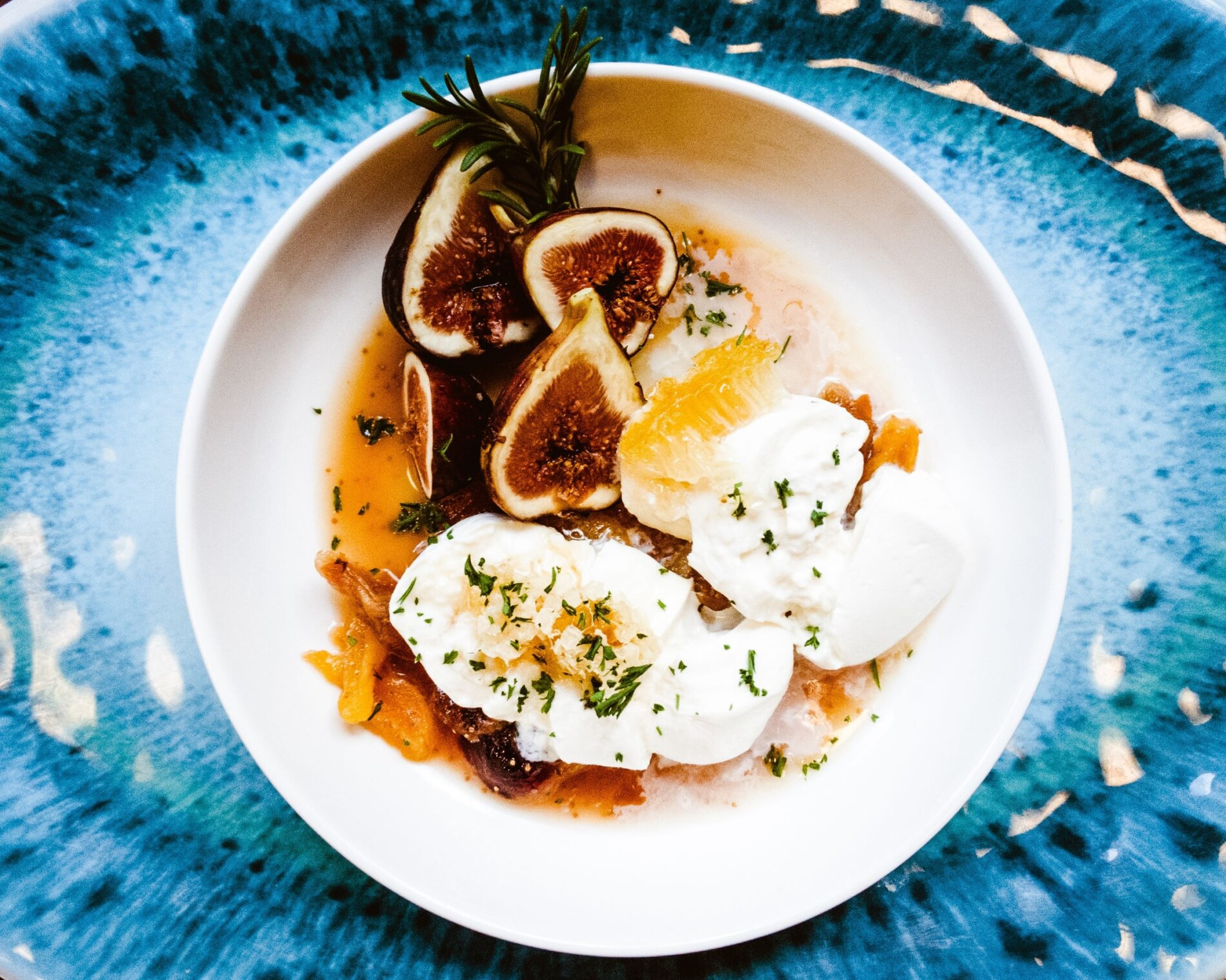 Burrata-with-Mission-Figs-Apricots-and-Honeycomb