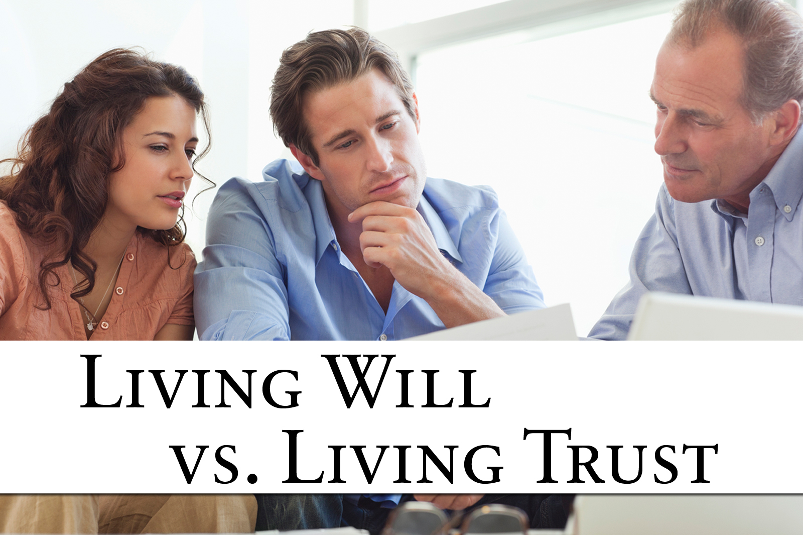 Image result for Living Trust vs. Will-